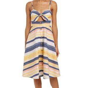 Hutch from Anthropology / Horizontal Striped Dress